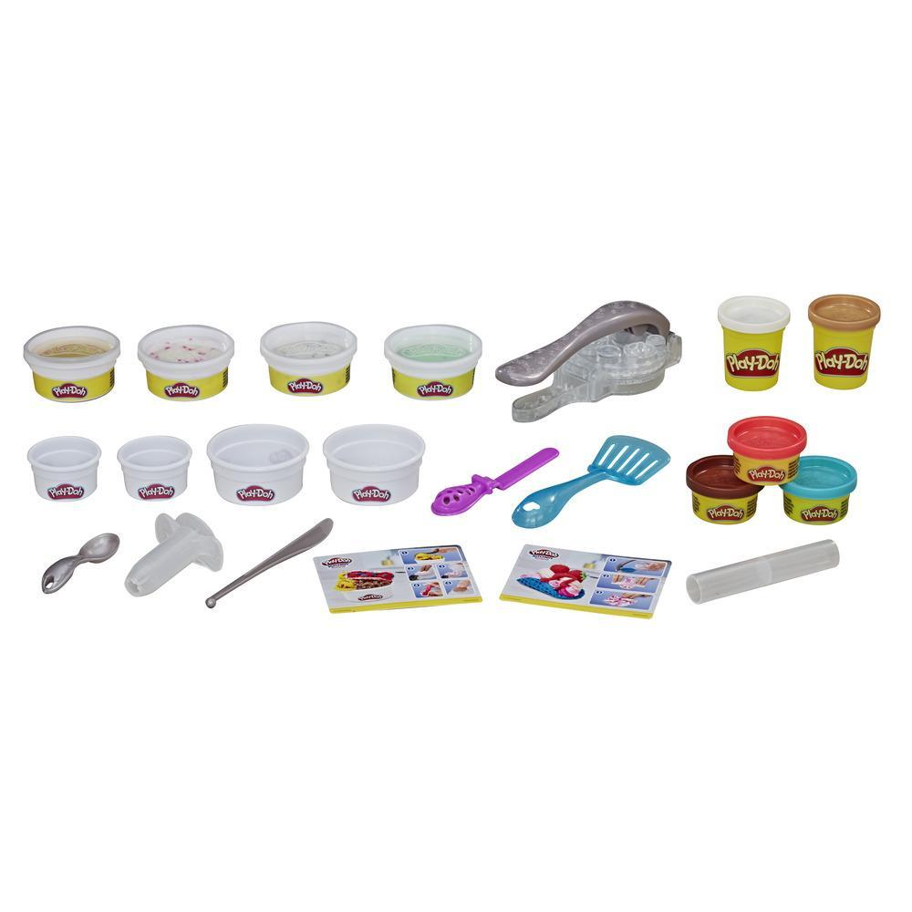 Play-Doh Rollzies - Set de heladería