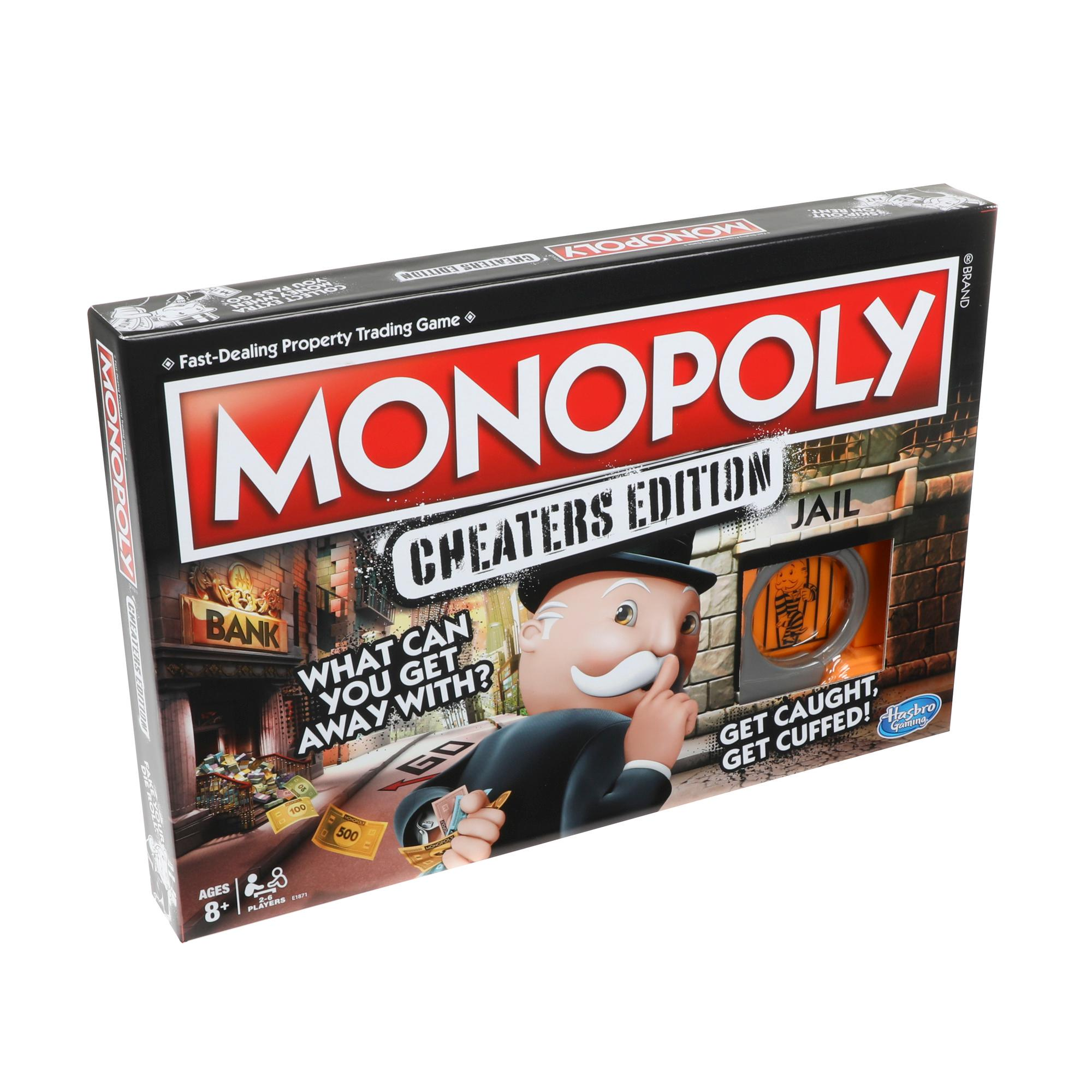 Juego Monopoly: Cheaters Edition