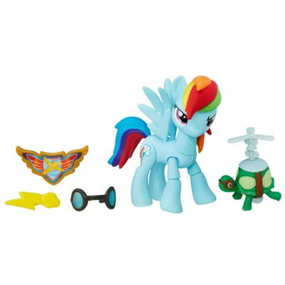 My Little Pony Guardians of Harmony - Figura de Rainbow Dash