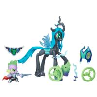 My Little Pony Guardians of Harmony Queen Chrysalis vs. Spike the Dragon