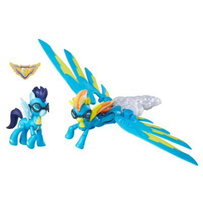My Little Pony Guardians of Harmony - Figuras de Spitfire y Soarin
