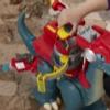 Playskool Heroes Chomp Squad - Blaze Saurio y Sparks McKenzie