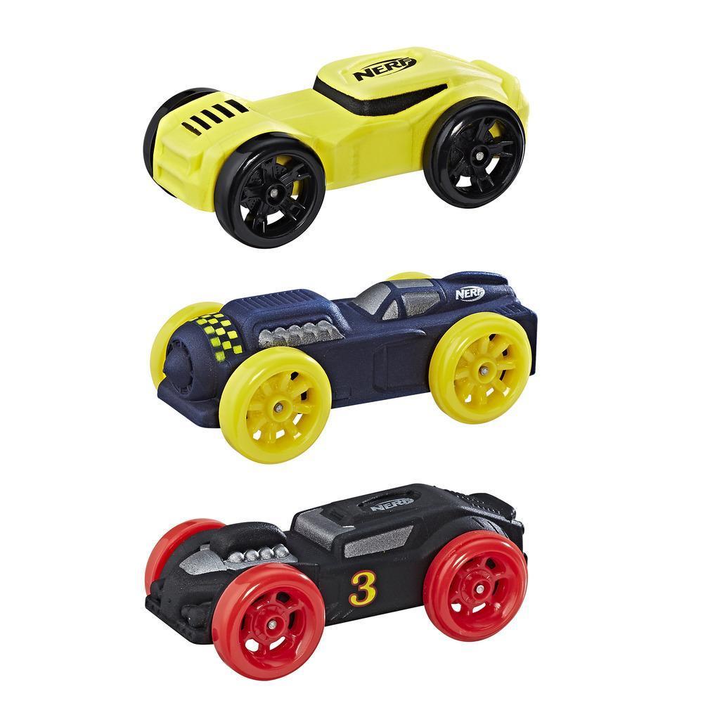 Nerf Nitro - Trío de autos de espuma (Empaque 4)