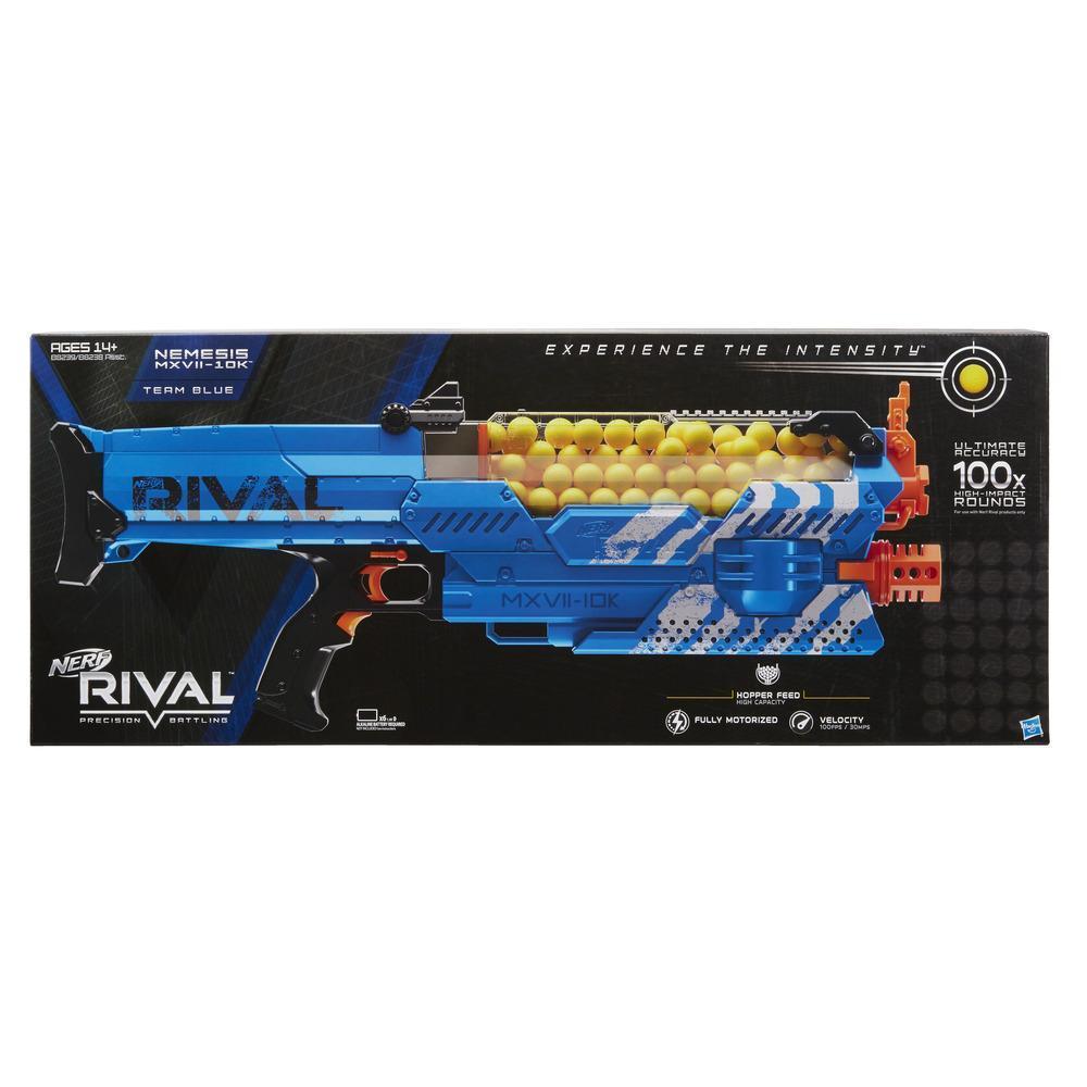 Nerf Rival Nemesis MXVII-10K azul