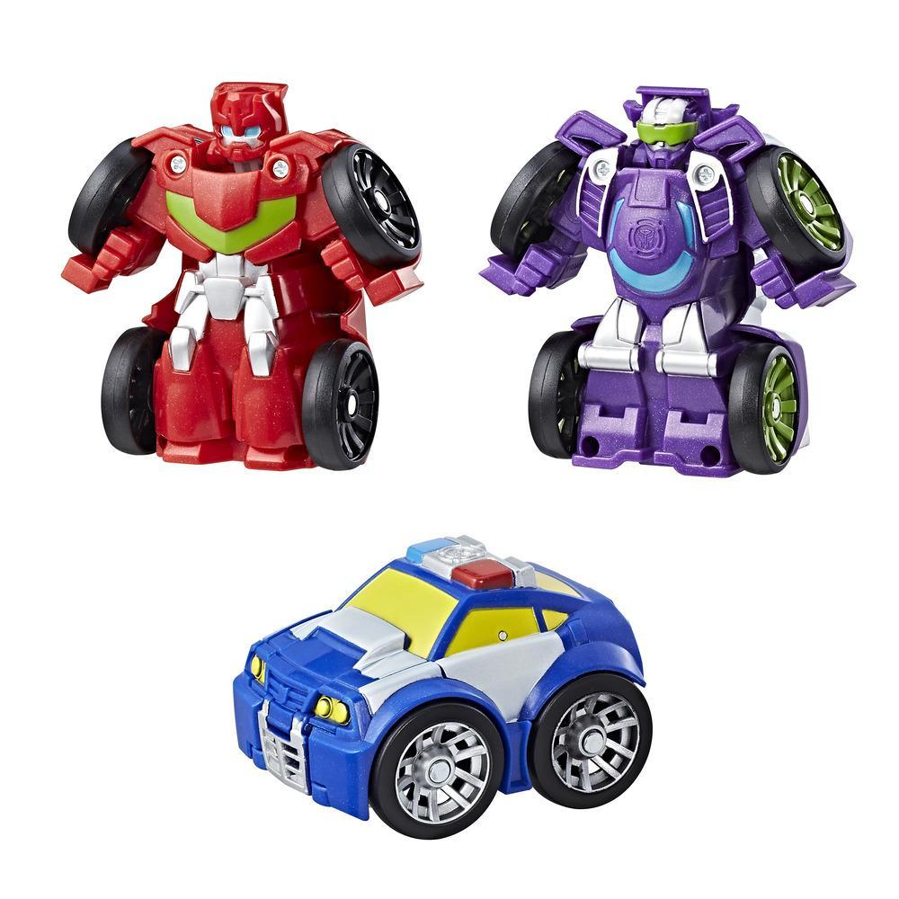 Playskool Heroes Transformers Rescue Bots Flip Racers - Escudería Griffin Rock