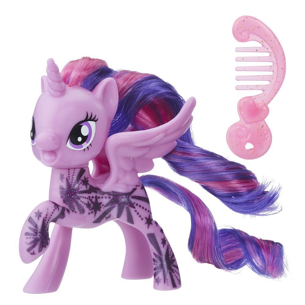 My Little Pony Princesa Twilight Sparkle con diseño brillante