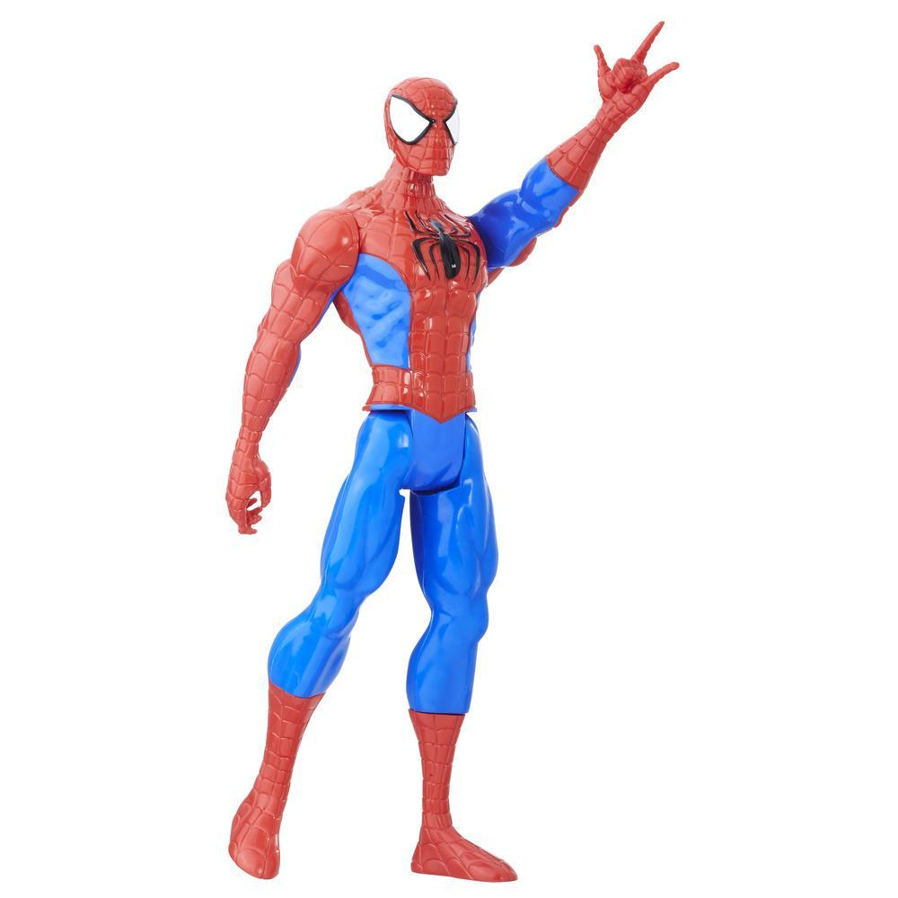 Marvel Spider-Man - Titan Hero Series - Figura de Spider-Man