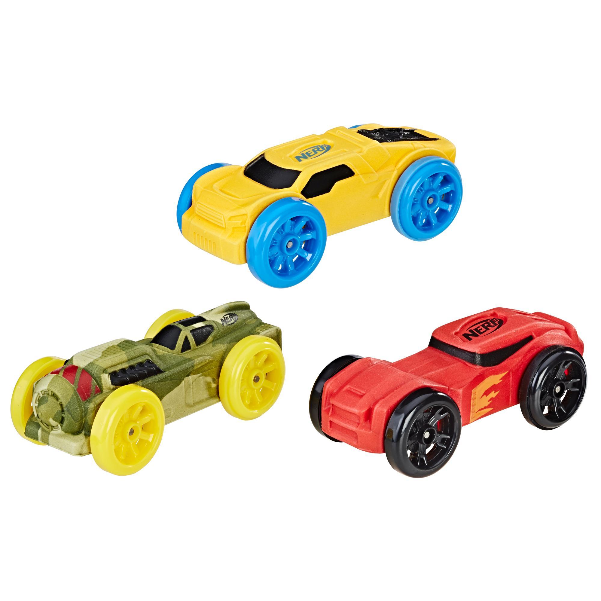 Nerf Nitro - Trío de autos de espuma (Empaque 5)