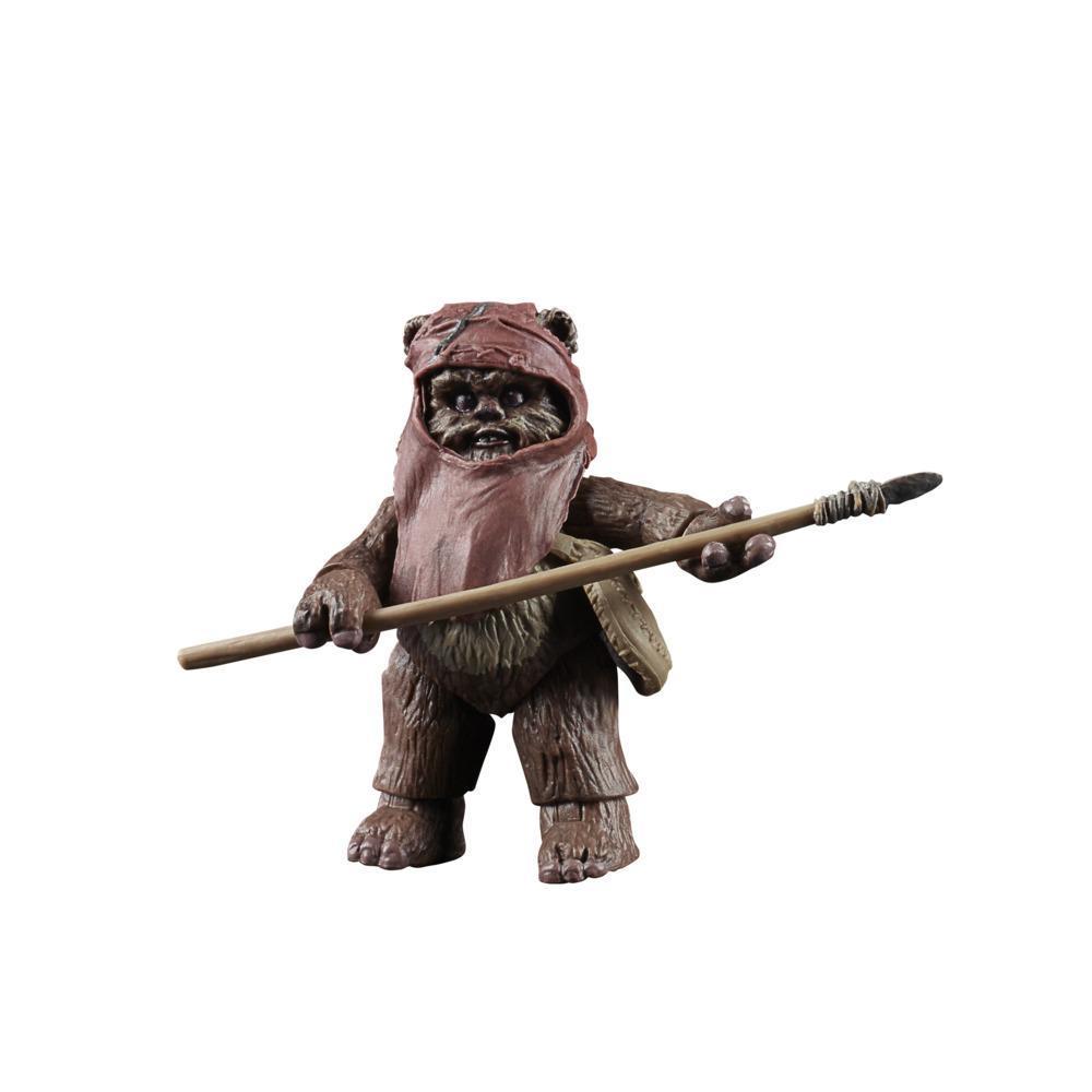 Star Wars La colección Vintage - Star Wars: El regreso del Jedi - Figura de Wicket a escala de 9,5 cm - Edad: 4+