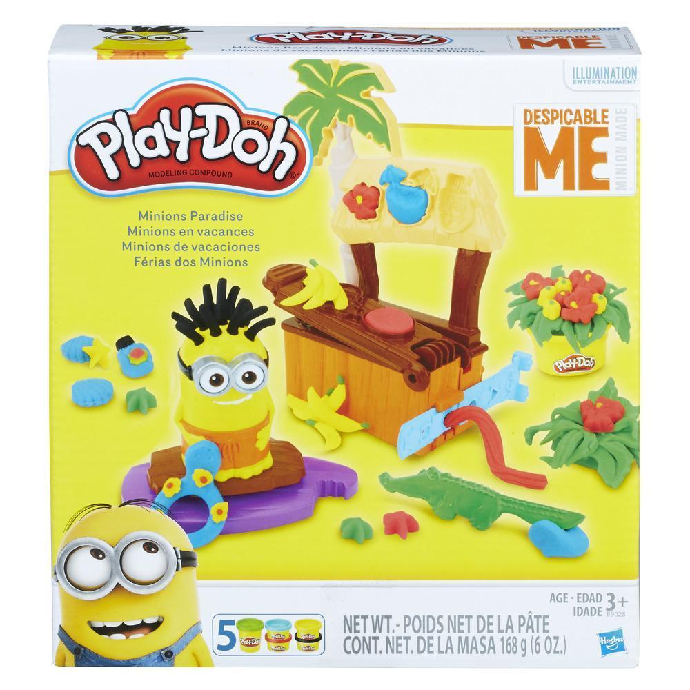 Play-Doh Minions de vacaciones