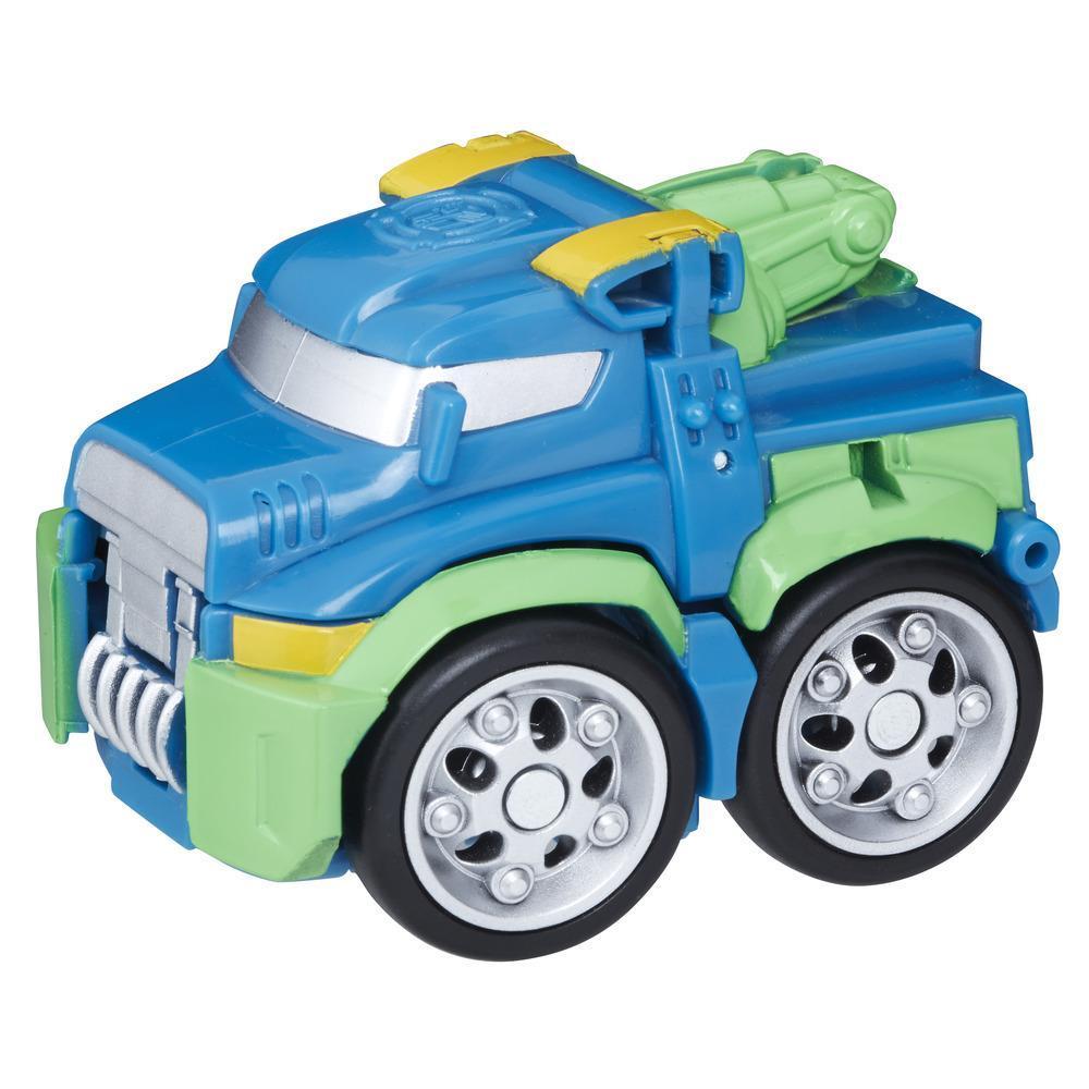 Playskool Heroes Transformers Rescue Bots Flip Racers - Hoist el robot grúa
