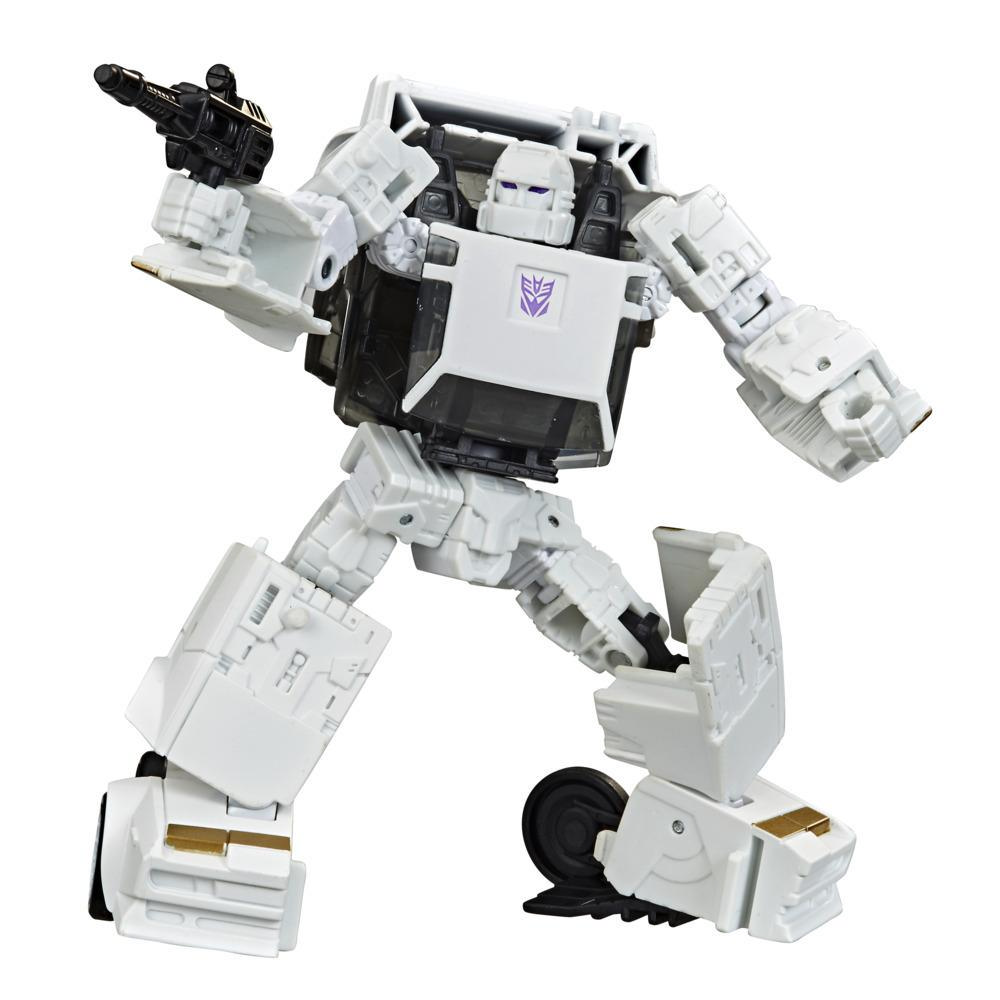 Transformers Generations War for Cybertron: Earthrise - Figura WFC-E37 Runamuck - 14 cm - Edad: 8+