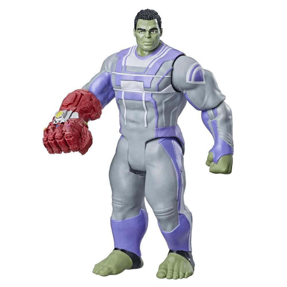 Marvel Avengers: Endgame - Figura de lujo de Hulk del Universo Cinematográfico de Marvel