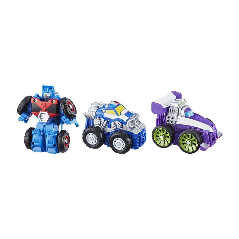 Playskool Heroes Transformers Rescue Bots - Flip Racers Equipo Extremo de Griffin Rock