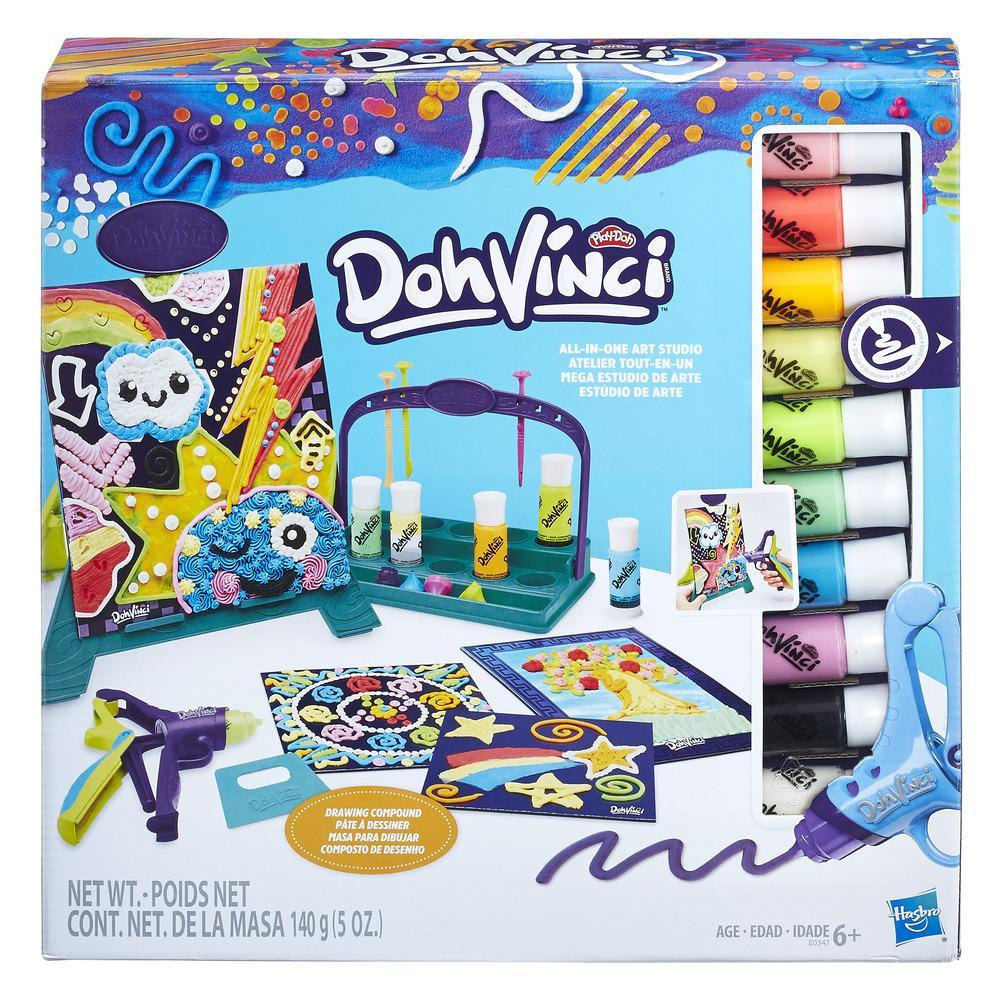 Play-Doh DohVinci Mega Estudio de Arte