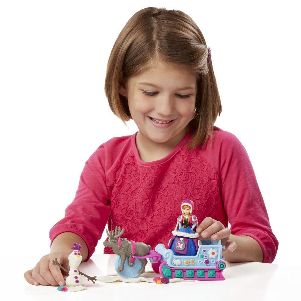 Aventura en trineo Play-Doh basada en Frozen Una aventura congelada de Disney