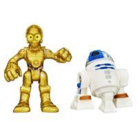 Playskool Heroes Star Wars Héroes Galácticos R2-D2 y C-3P0