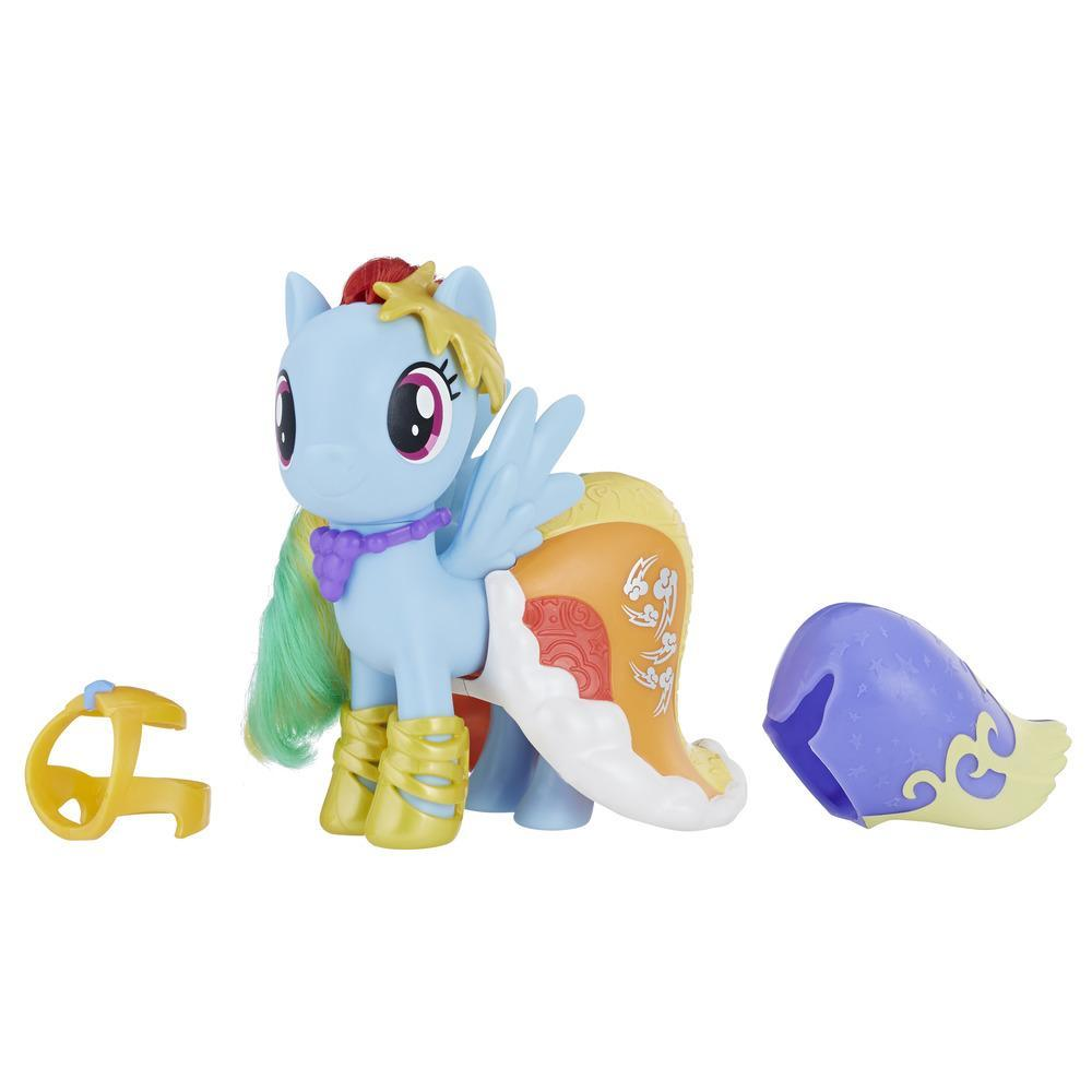My Little Pony Rainbow Dash Moda removible