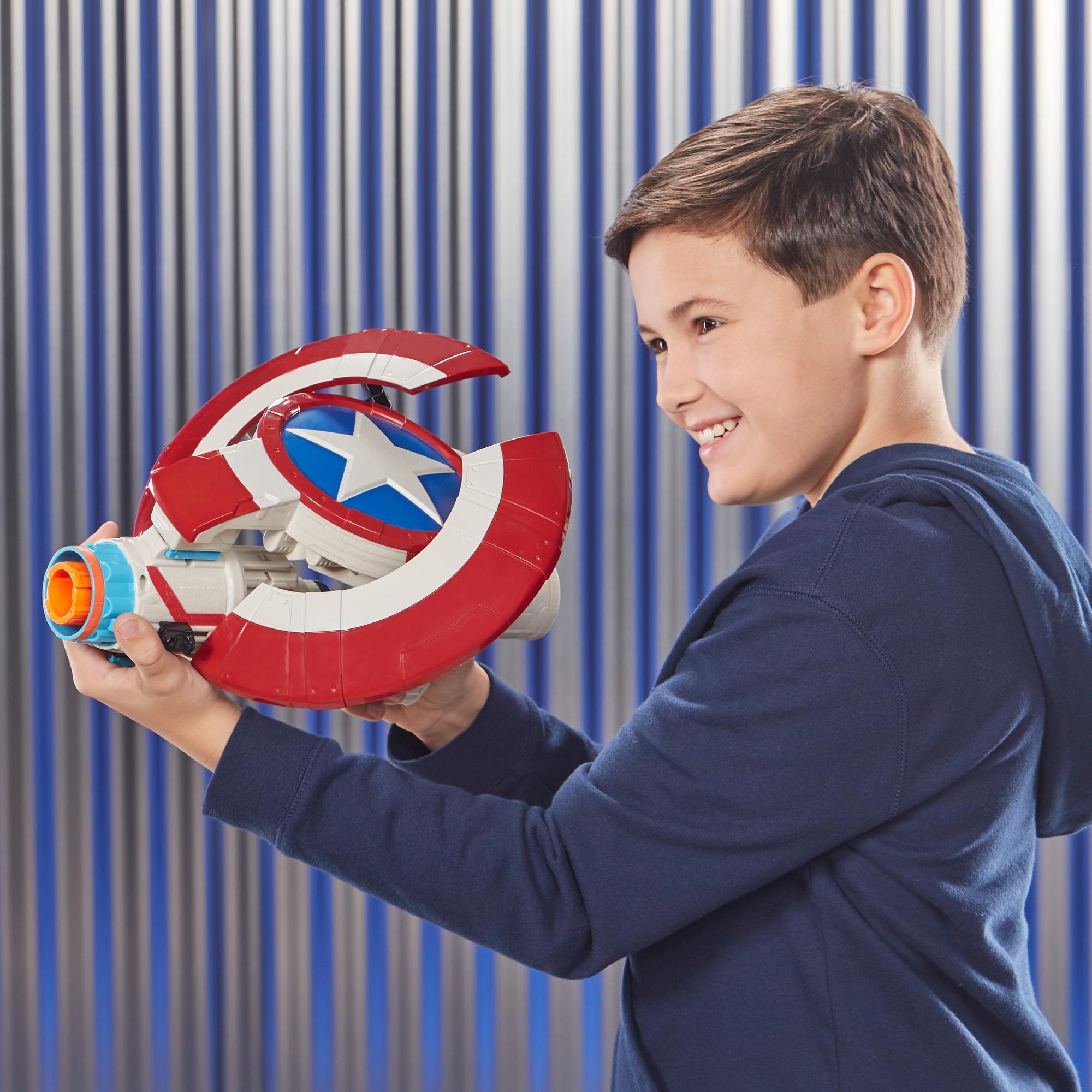 Marvel Avengers: Endgame - Nerf Captain America Assembler Gear