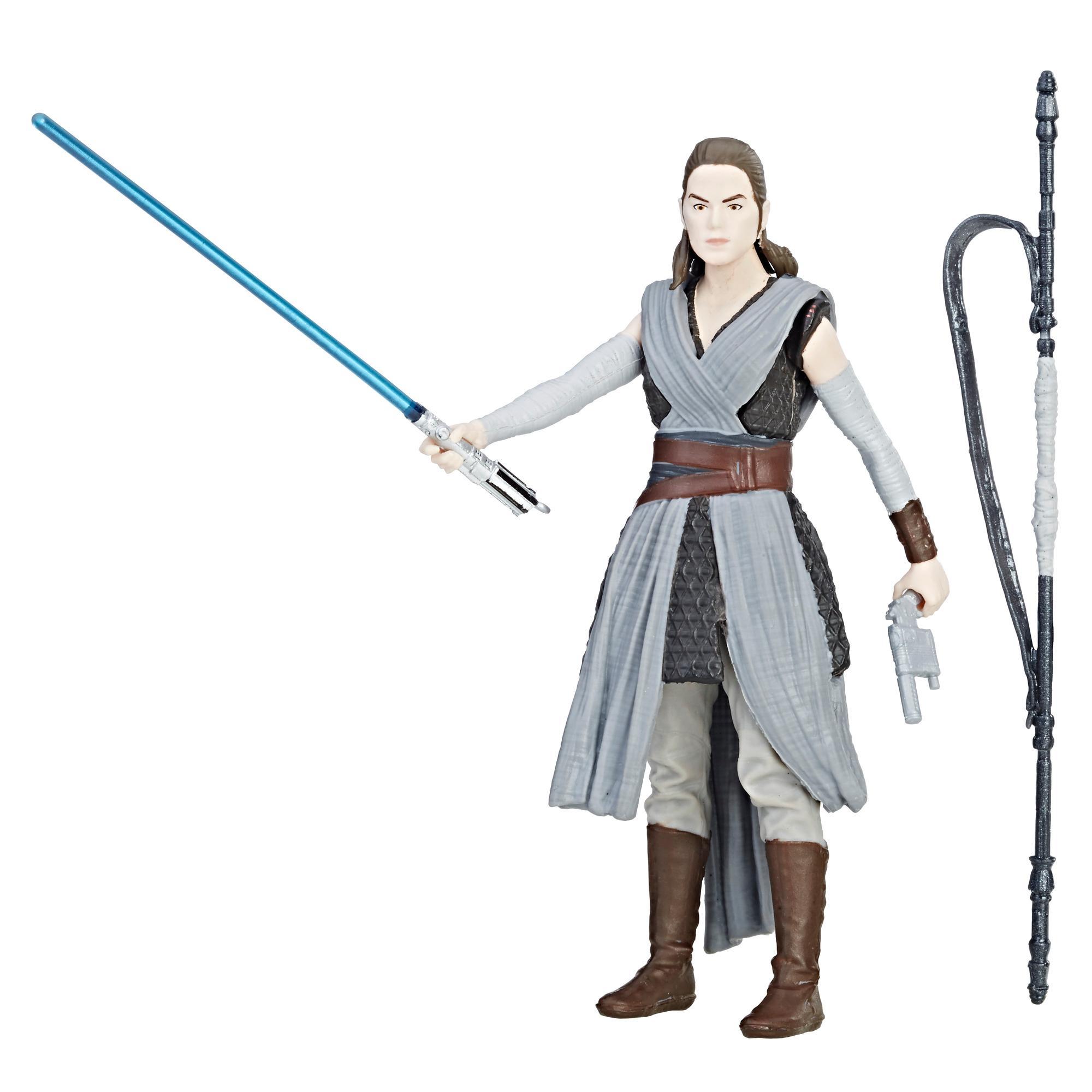 Star Wars Rey (Aventura en la isla) - Figura Force Link