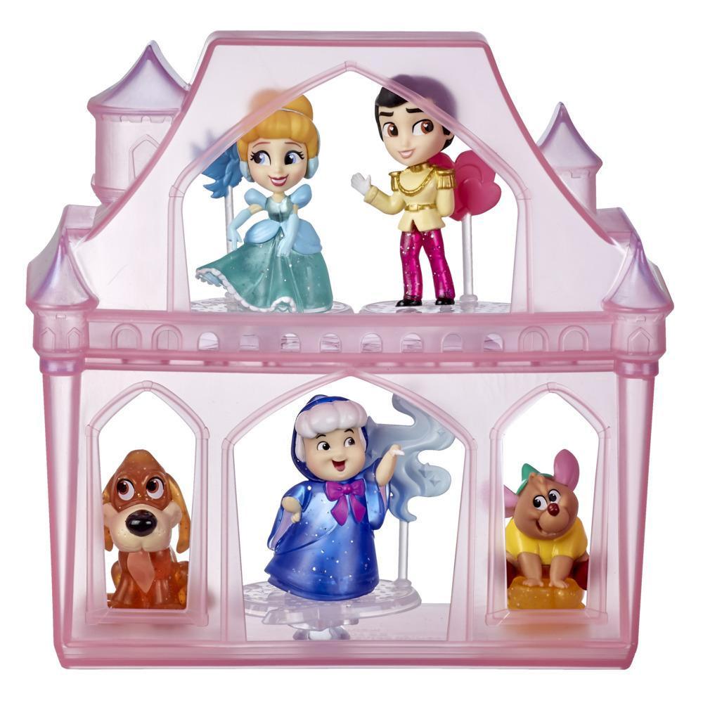Disney Princess Comics - Cenicienta Aventuras sorpresa - 5 figuras, accesorios y estuche - Juguete para niños y niñas de 3 años en adelante