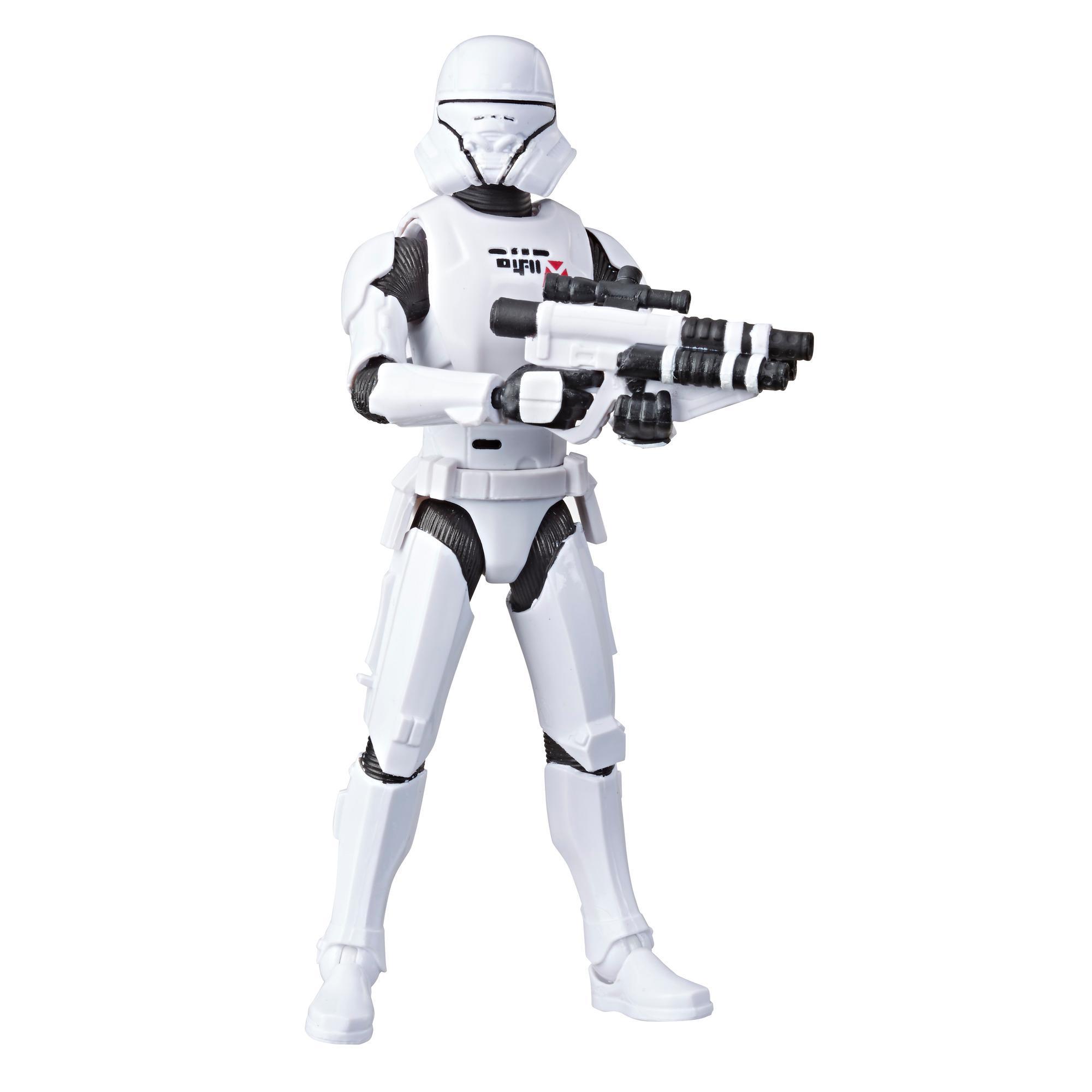 Star Wars Galaxy of Adventures - Star Wars: The Rise of Skywalker - Figura de acción de Jet Trooper de 12,5 cm con divertido movimiento de acción