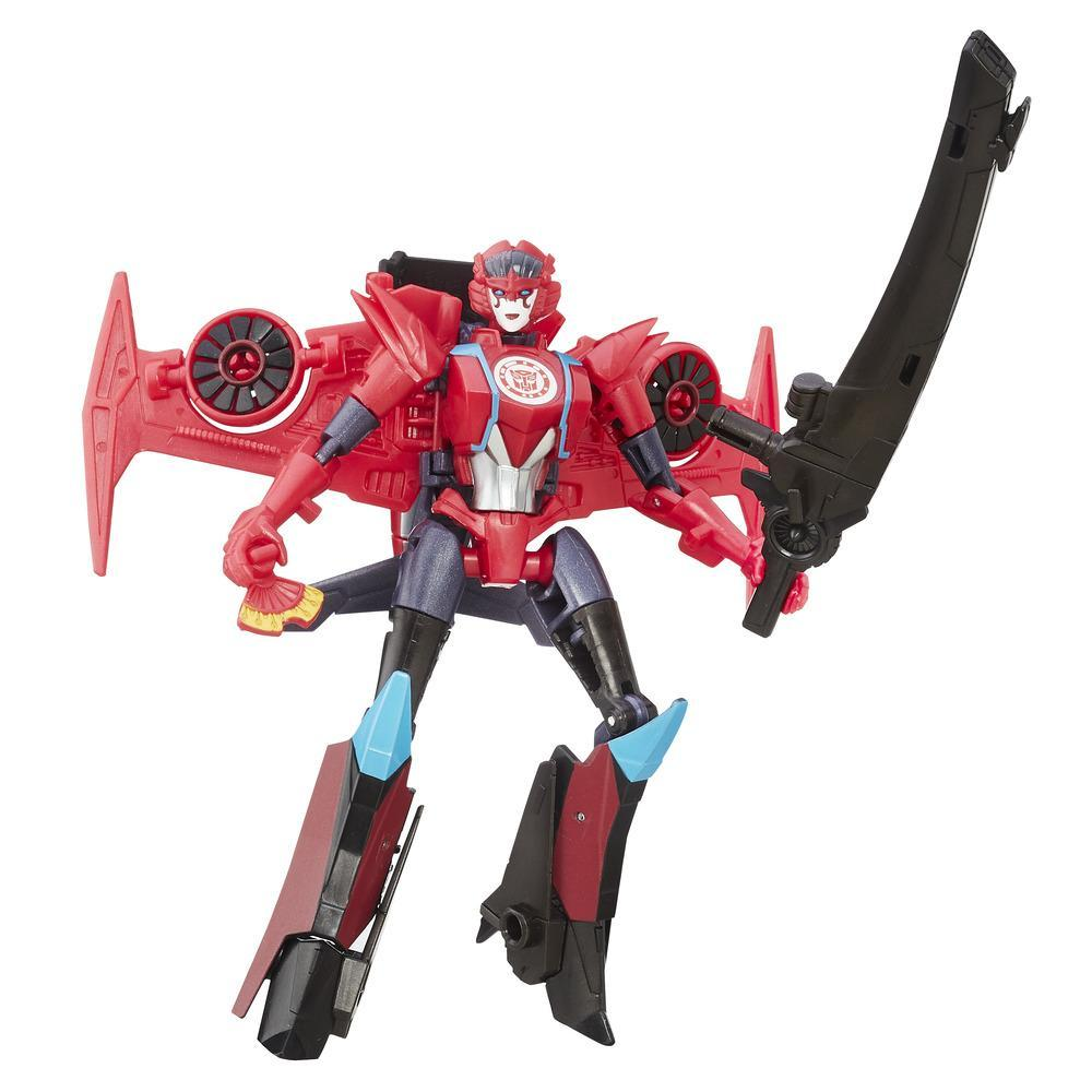 Transformers: Robots in Disguise Windblade Clase Guerrero
