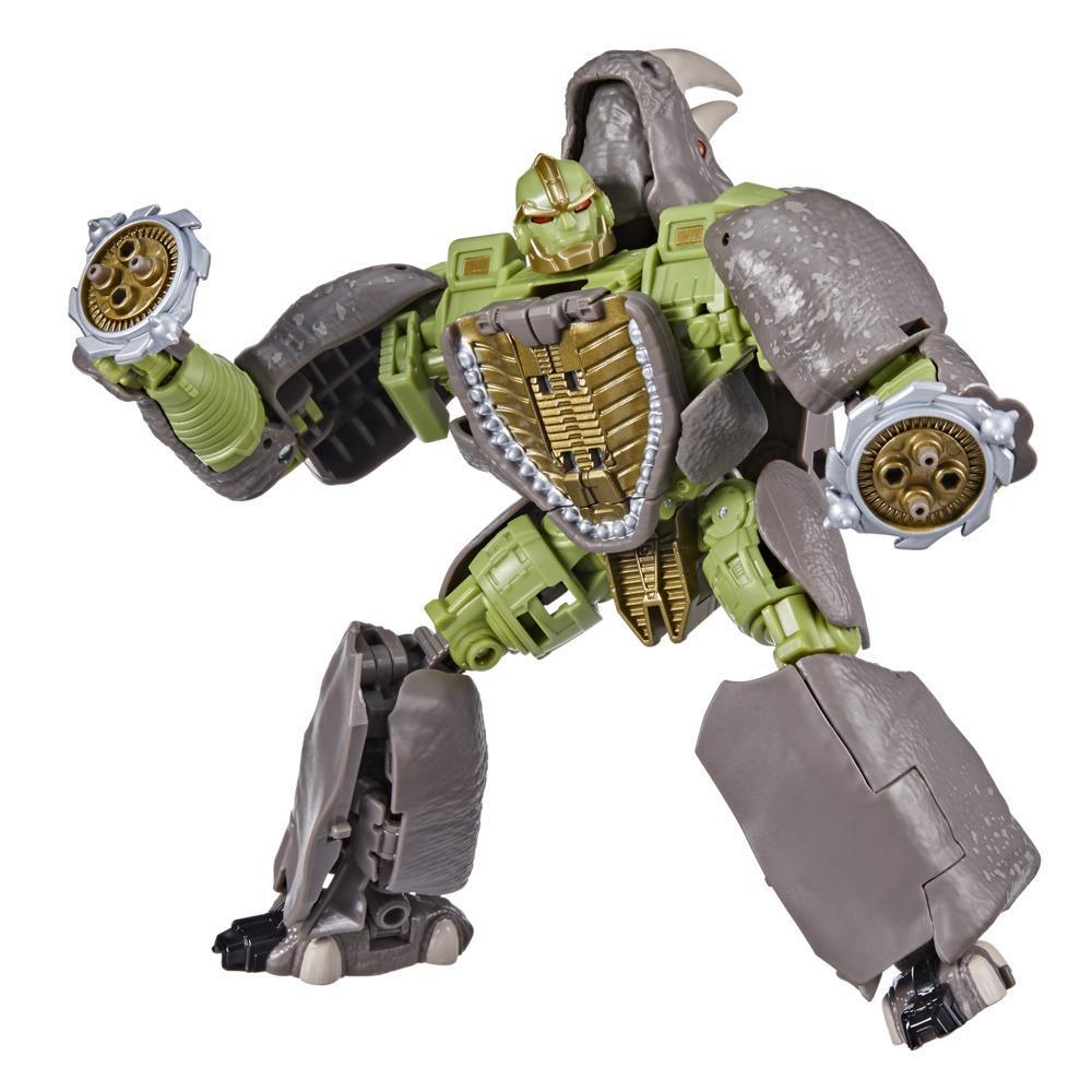 Juguetes Transformers Generations War for Cybertron: Kingdom - Figura WFC-K27 Rhinox clase viajero