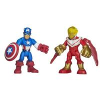 2 PACK: CAPTAIN AMERICA Y MARVELS FALCON