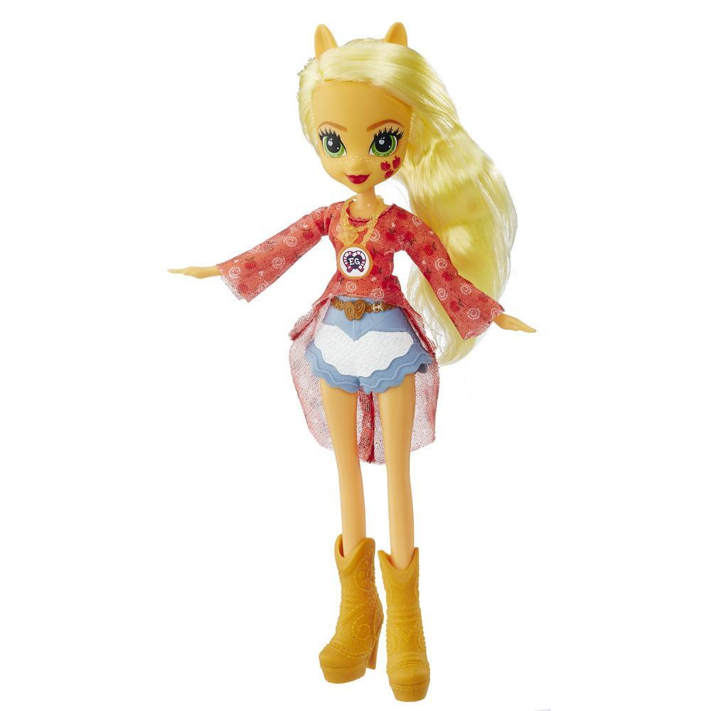 My Little Pony Equestria Girls Legend of Everfree - Muñeca de Applejack