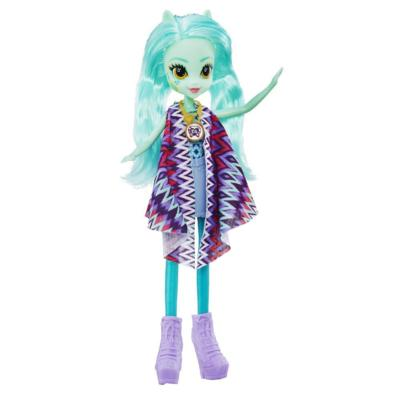 My Little Pony Equestria Girls Legend of Everfree - Muñeca de Lyra Heartstrings