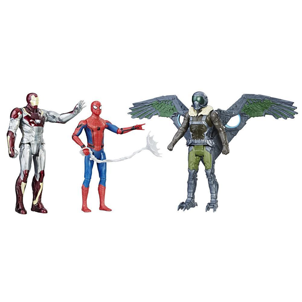 Spider-Man: Homecoming - Web City - Trío de figuras de 15 cm