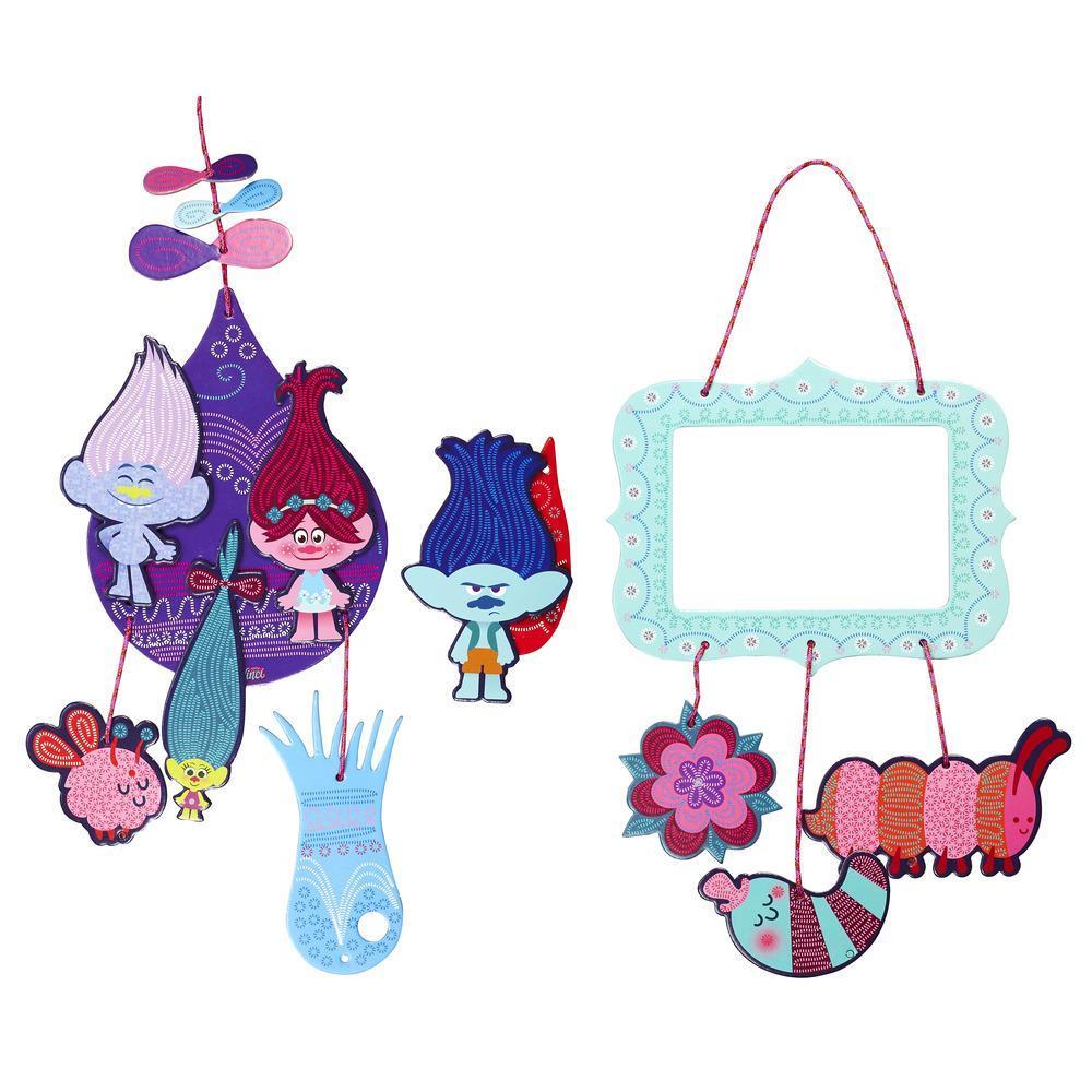 Play-Doh DohVinci DreamWorks Trolls  - Kit de diseño de Poppy