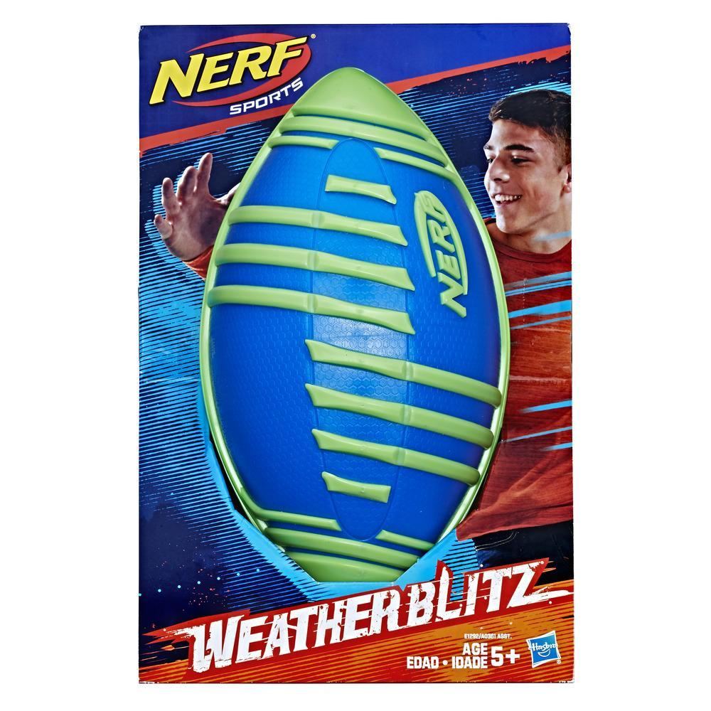 Nerf Sports - Balón de fútbol americano Weather Blitz (azul)