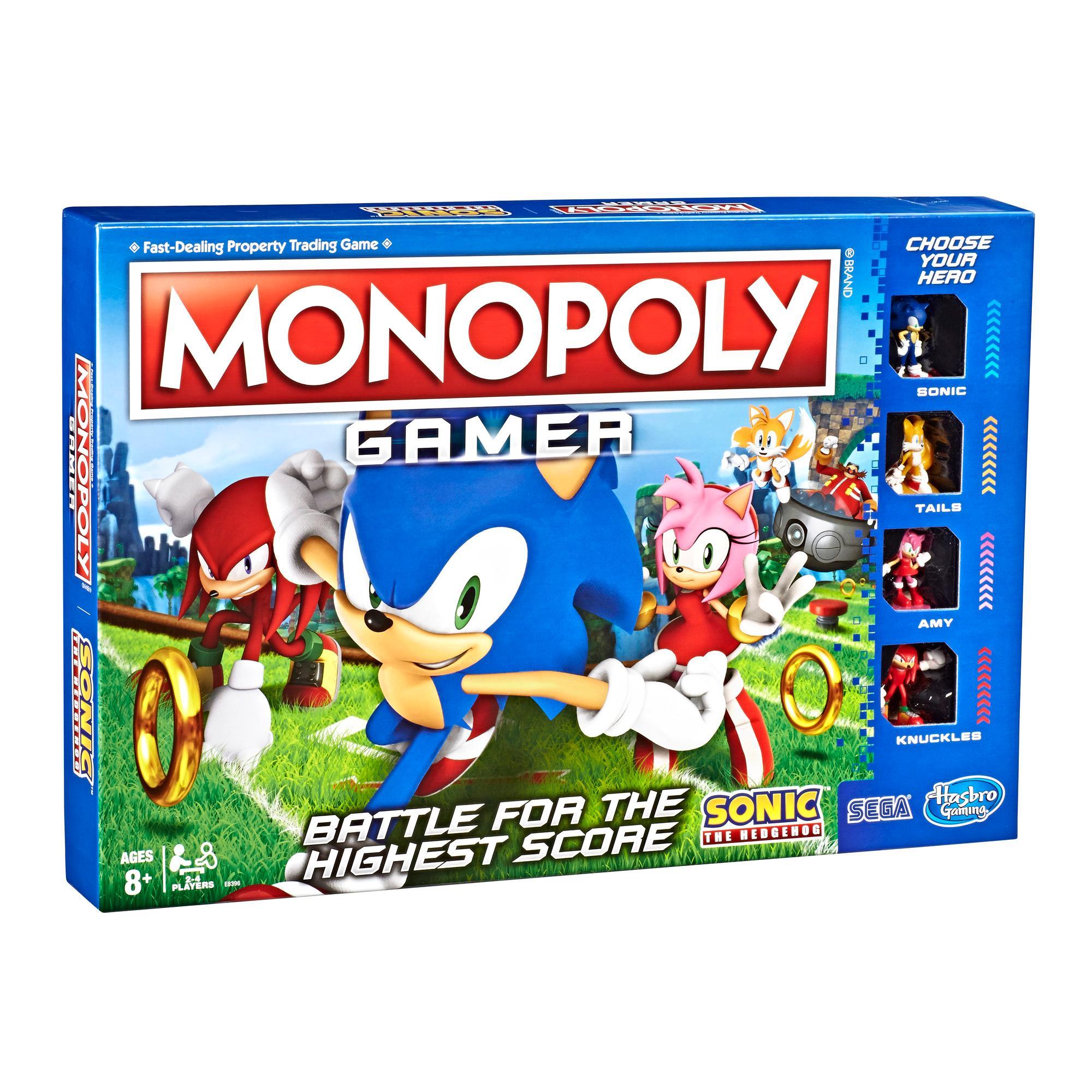 Juego de mesa Monopoly Gamer - Edición Sonic the Hedgehog