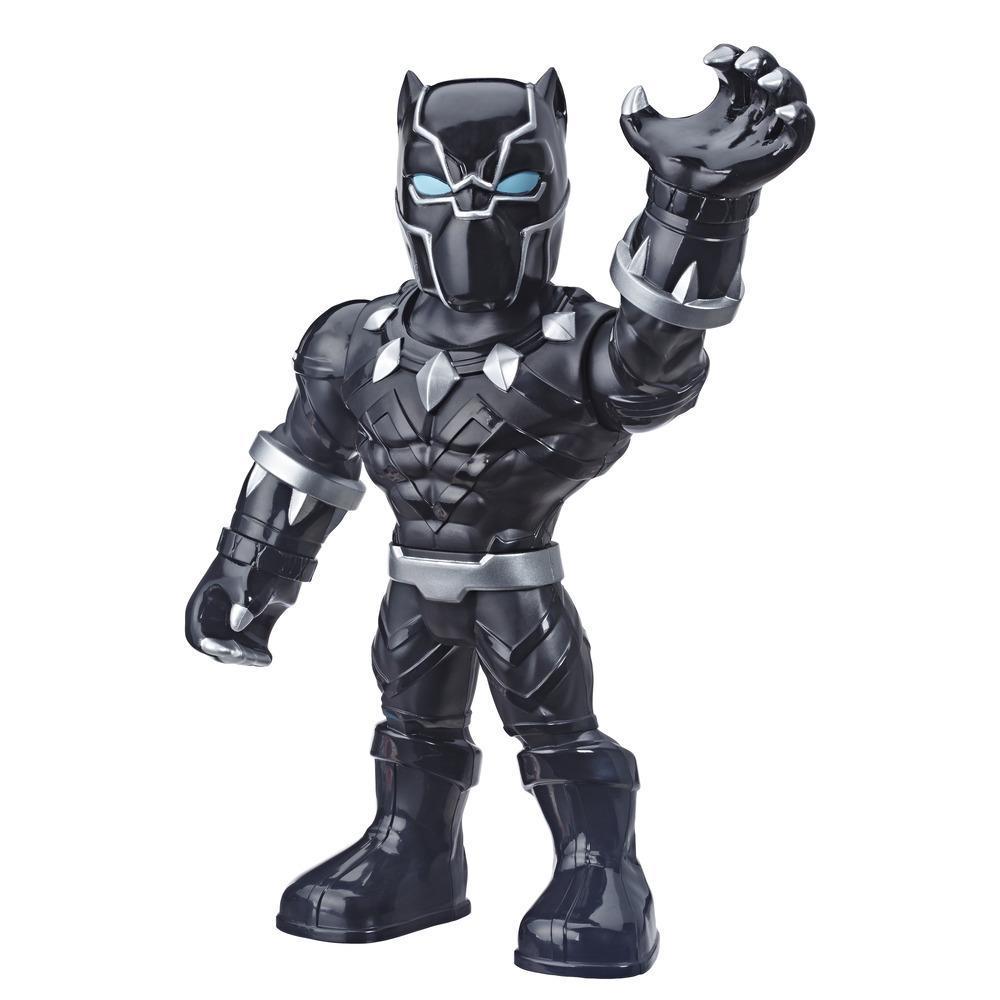 Playskool Heroes Marvel Super Hero Adventures Mega Mighties - Black Panther - Figura de acción coleccionable de 25 cm - Juguetes para niños de 3 años en adelante