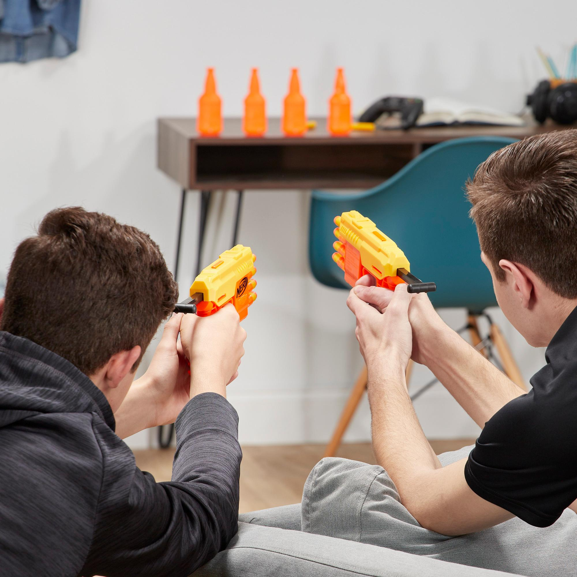 Fang QS-4 Set doble de puntería -- Set Nerf Alpha Strike de 18 piezas