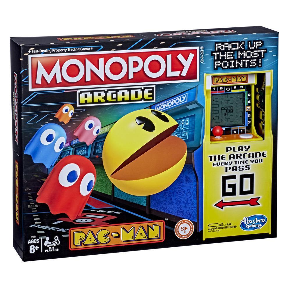 Juego Monopoly Arcade Pac-Man para niños de 8 años en adelante