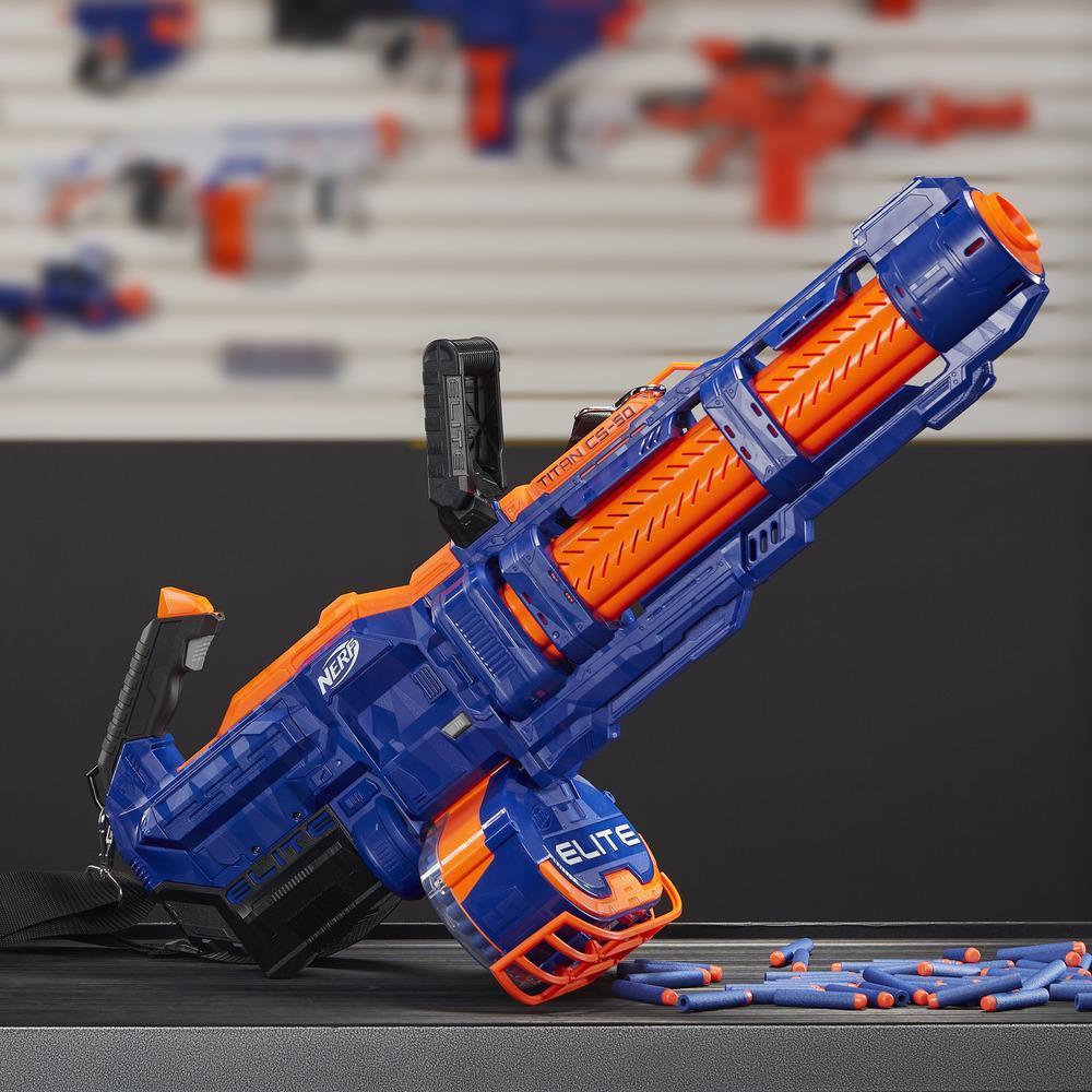 Lanzador de juguete Titan CS-50  Nerf Elite