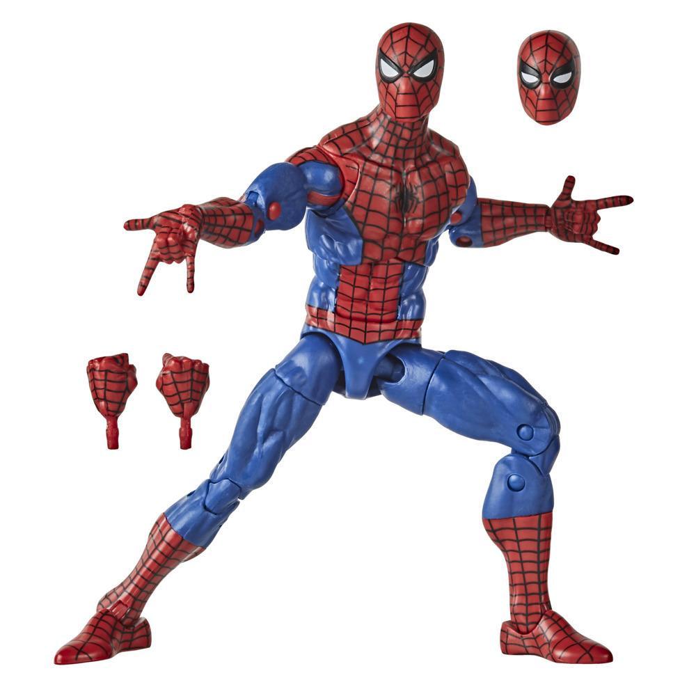 Hasbro Marvel Legends Series - Figura coleccionable del Hombre Araña de 15 cm - Colección Vintage