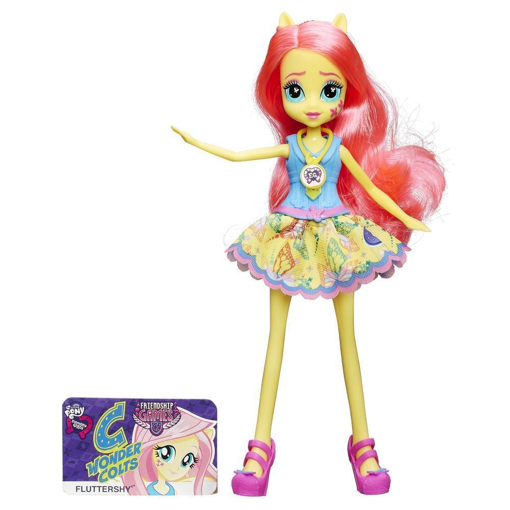 Muñeca My Little Pony Equestria Girls Fluttershy Friendship Games