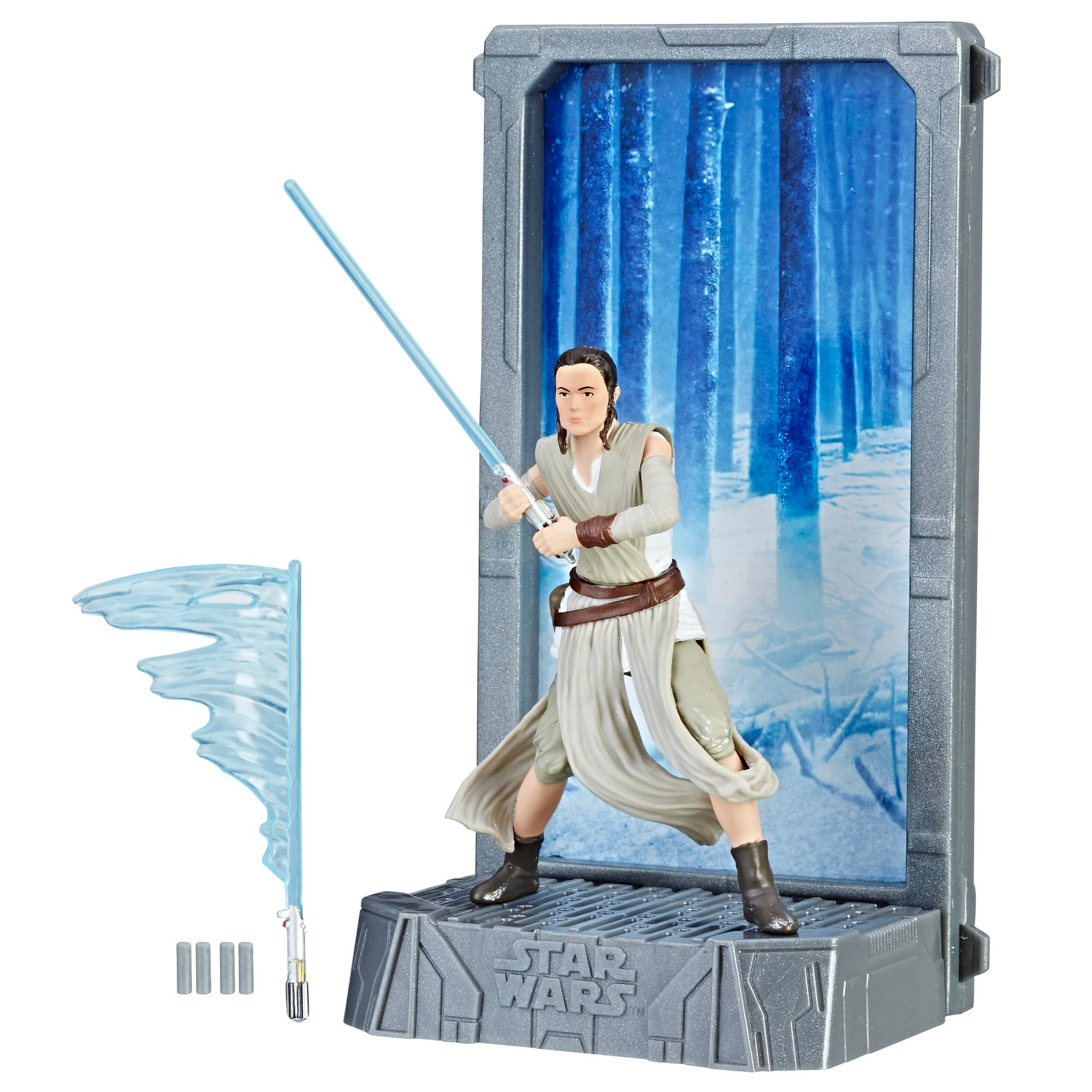 Star Wars The Black Series - Titanium Series Rey (Base Starkiller)