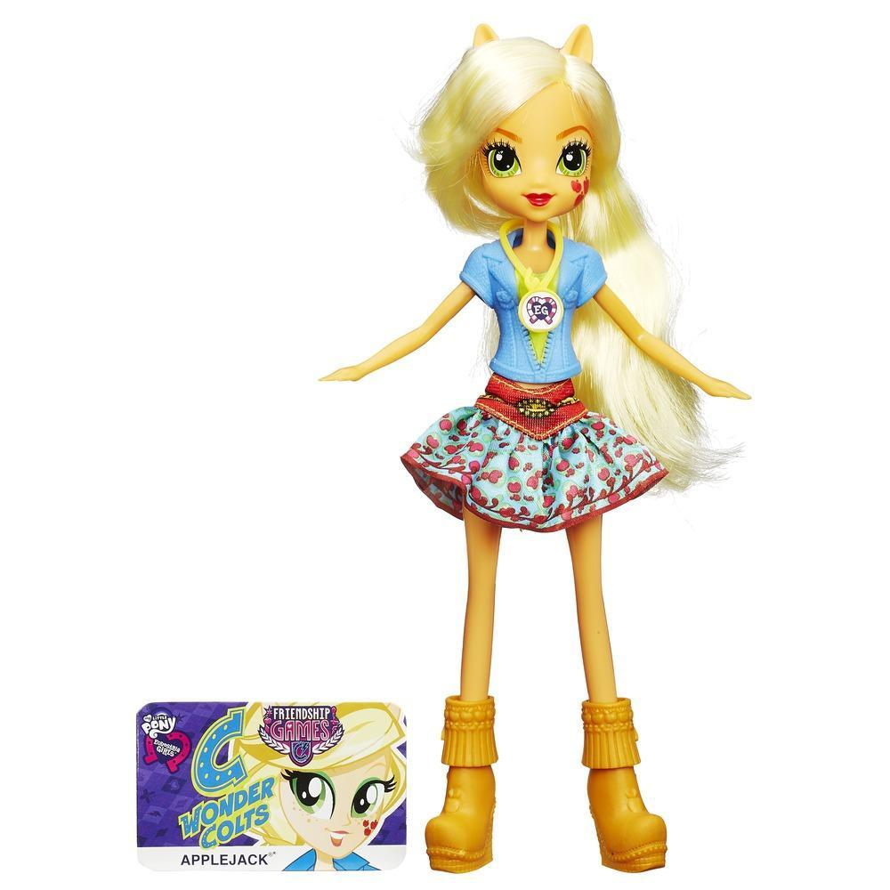 Muñeca My Little Pony Equestria Girls Applejack Friendship Games