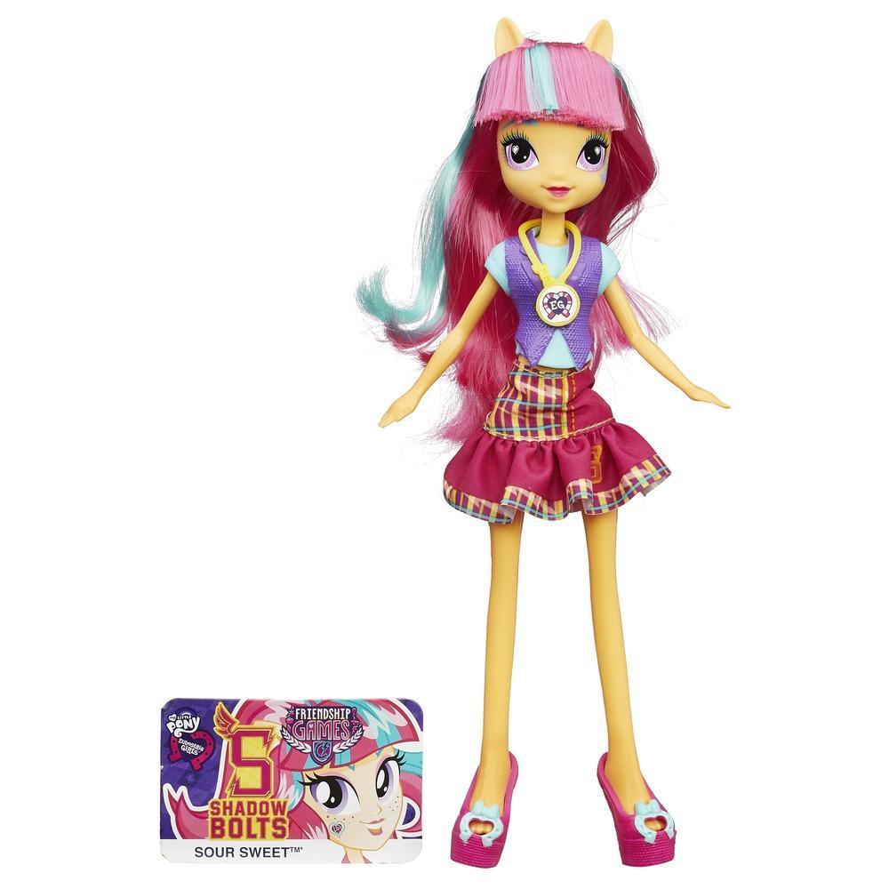 Muñeca My Little Pony Equestria Girls Sour Sweet Friendship Games