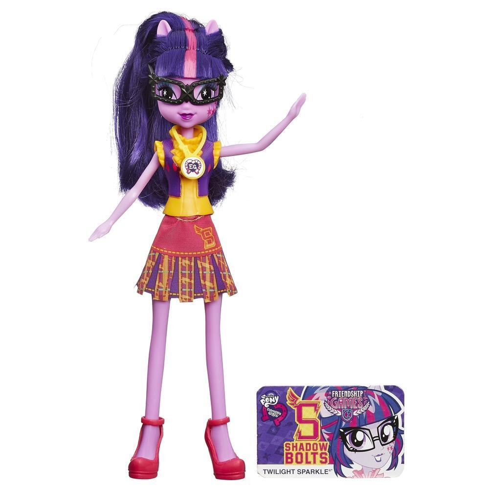 Muñeca My Little Pony Equestria Girls Twilight Sparkle Friendship Games