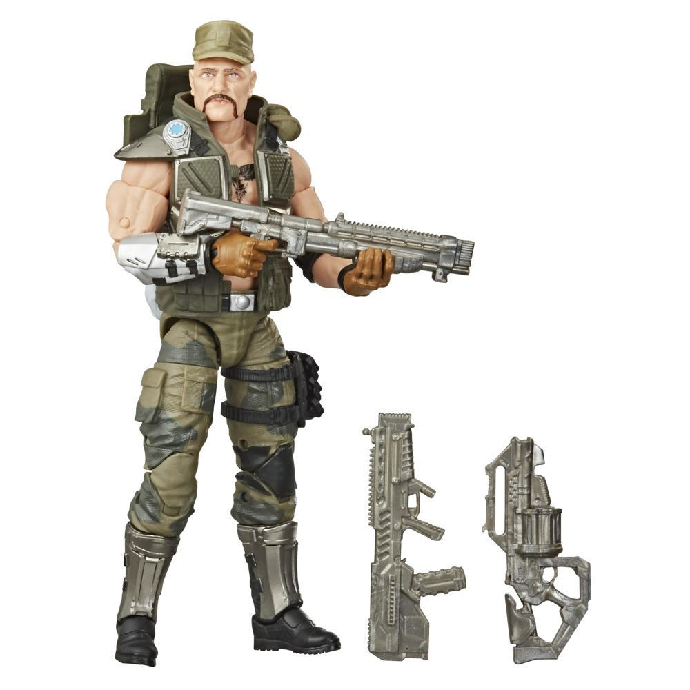 G.I. Joe Classified Series - Figura Gung Ho 07 con múltiples accesorios y empaque con arte distintivo