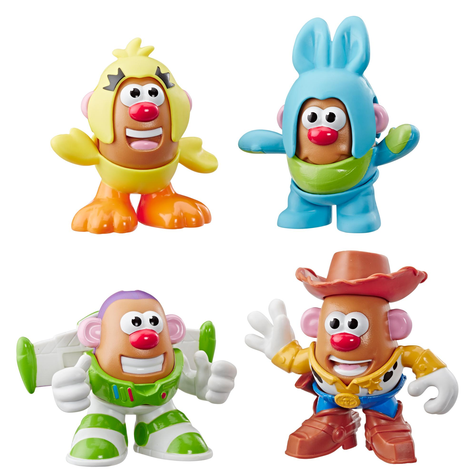 Mr. Potato Head Disney/Pixar - Miniempaque de 4 Toy Story