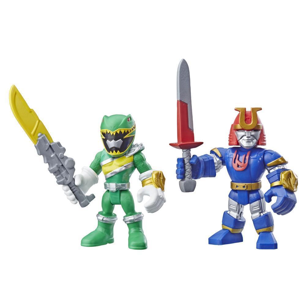 Playskool Heroes Power Rangers Green Ranger y Ninjor
