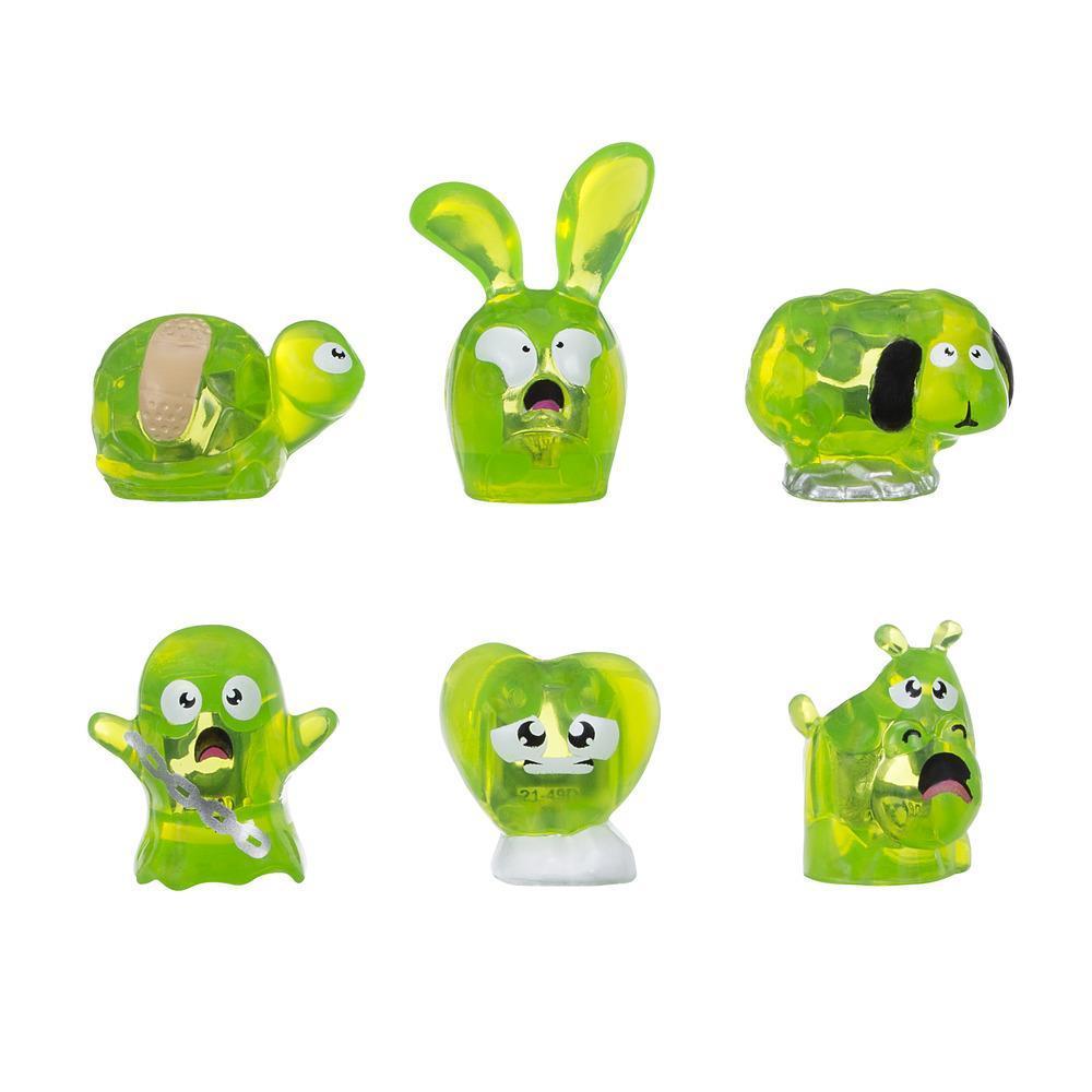 Hanazuki Empaque de 6 tesoros - Verde lima/Asustado (Colección 1)