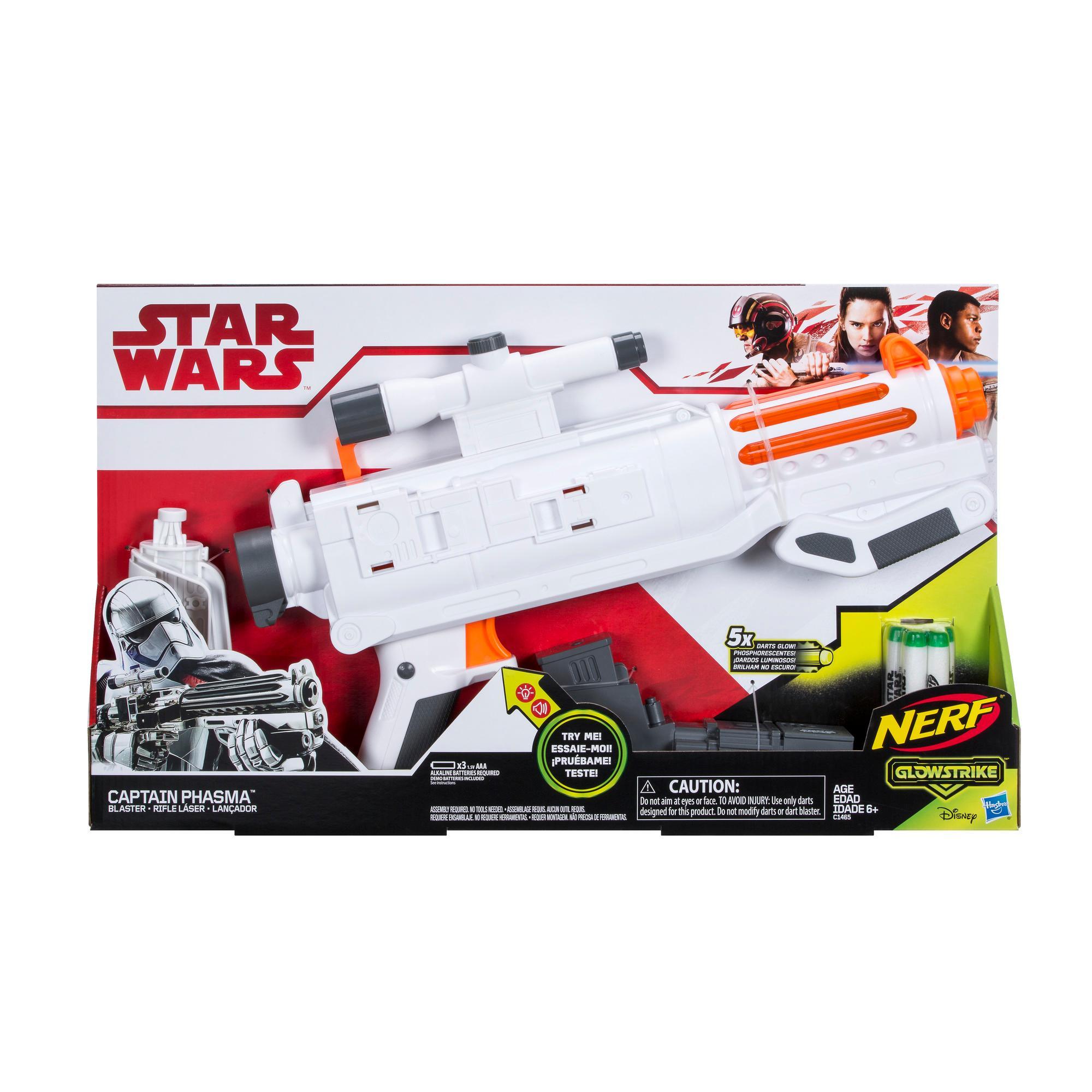 Star Wars Nerf - Capitán Phasma - Rifle láser